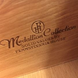 Side tables are Medallion Collection, Pennsylvania House.