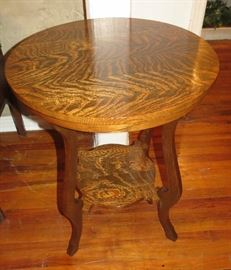 Another Gorgeous Antique Side Table, This one is Tiger