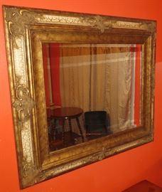 Gorgeous Large Beveled Mirror