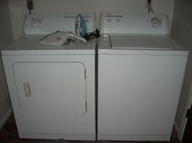 Washer, Dryer - made by Kenmore  (Dryer SOLD Thur)