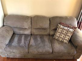 Microfiber Plush Sofa