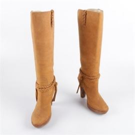 G Series Tan Leather Boots