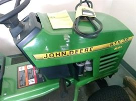 "1996 John Deere STX riding mower w/ 38"" deck"