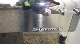 Summit Weber grill, used maybe a handful  of times.