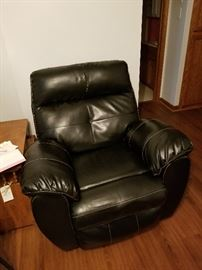 Recliner,it does have a small split at top,priced to sell.