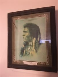 One of several Native American Pieces-this by Hampton
