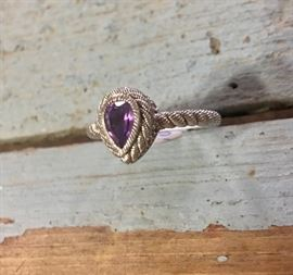 Judith Ripka, Size 8, 925 Ring