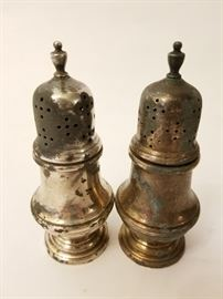 Sterling Silver Salt and Pepper Shaker Set      http://www.ctonlineauctions.com/detail.asp?id=703723
