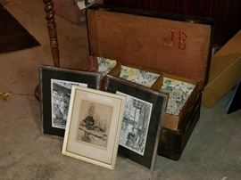 Vintage Steamer Trunk and More            http://www.ctonlineauctions.com/detail.asp?id=704237