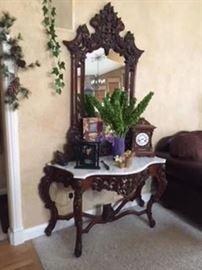 Antique Fine Mahogany Furniture