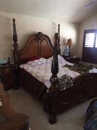 Mahogany Bedroom Set-Furniture