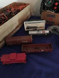 More Vintage Lionel Trains