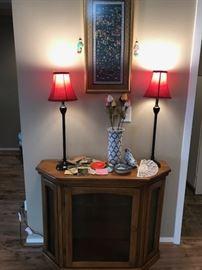 Hall Display Cabinet