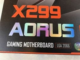 Aorus X299 Gaming 9 Motherboard New in Box