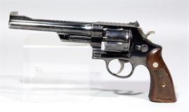 "Smith & Wesson 1955 Pre-Model 27 Revolver, .357 Magnum, SN#S132780, 6.5"" Pinned BBL"
