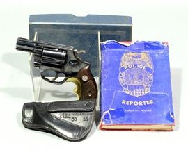 "Smith & Wesson Chiefs Special Model 36 Kansas City Police Revolver, .38 Special, SN# 428871, 2"" BBL, Includes Holster, Original Paperwork & Box"