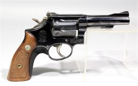 Smith & Wesson Model 18-2 Combat Masterpiece Revolver, .22 LR, SN# K481690, Includes Original Box and Paperwork
