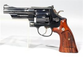 "Smith & Wesson 1981 Model 27-2 Revolver, .357 Magnum, SN# N832989, 4"" Pinned BBL, S&W Target Grips"