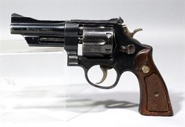 "Smith & Wesson 1973 Model 28-2 Highway Patrolman Revolver, .357 Magnum, SN# N192724, 4"" Pinned BBL, Magna (Service) Grips"