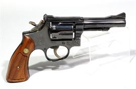 "Smith & Wesson Model 15-3 Revolver, .38 Special, SN# 1K5859, 4"" BBL, Includes Original Box"