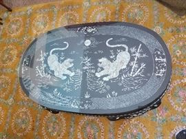 Laquerware Coffee Table