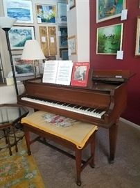 Howard Baby Grand Piano