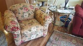 $90  Floral chair