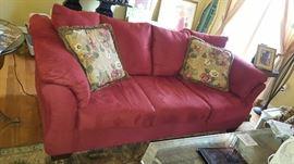$200   Red sofa