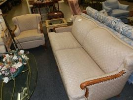 Mid-Century, Furniture City, Grand Rapids. This set is in excellent condition! The Living Room was to look at...not use!