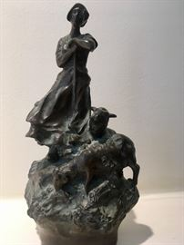 antique bronze sculpture by Charles Korschann