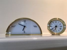 Tiffany clocks