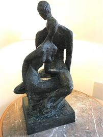 Bronze sculpture by Yael Shalev
