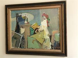 Original oil by Moshe Rosenthalis