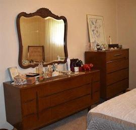 Bedroom Koehler Mid Century Dresser  Chest