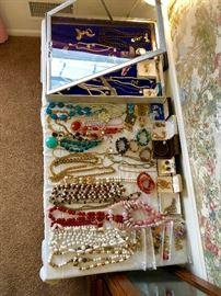 14k rings, costume jewelry