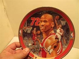 Michael Jordan Plate