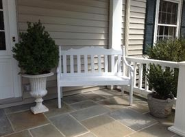 bench sold - - planters still available