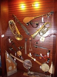 Wide variety of Musical Items