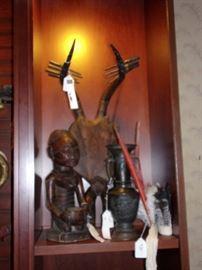 Amazing sculptural instrument, sculpture and vase