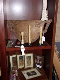 Musical Gong and bone items
