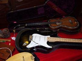 Fender Guitar  Fancy Spanish guitar Gibson guitar case only