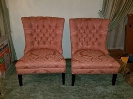 Matching side chairs
