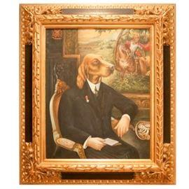 R. Zucan Oil Portrait