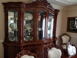GORGEOUS ITALIAN DINING ROOM SET