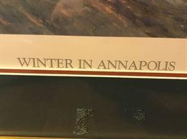 Paul McGehee Signed Print - Annapolis!
