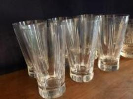 6 Baccarat glasses