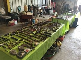 Tables & Tables of Tools Pliers, Hammers, Crescent Wrenches, Pliers, Welding Torches t, Rosebuds & Brazing Tips, Dewalt Power Tools, SkilSaw, too much to list, see video
