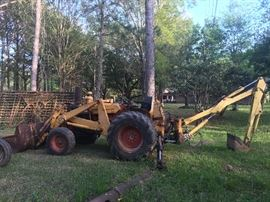 CK Tractor with Backhoe