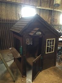 Fit Fun Cedar Play House