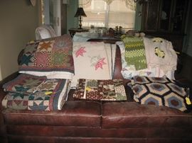 Beautiful quilts!